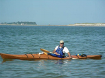 Bob Khederian kayaking