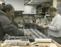 Analyzing rock cores
