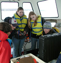 The BLOOM Program provides Maine students with real world ocean research experience