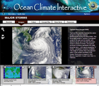 Screenshot of the OCI home page